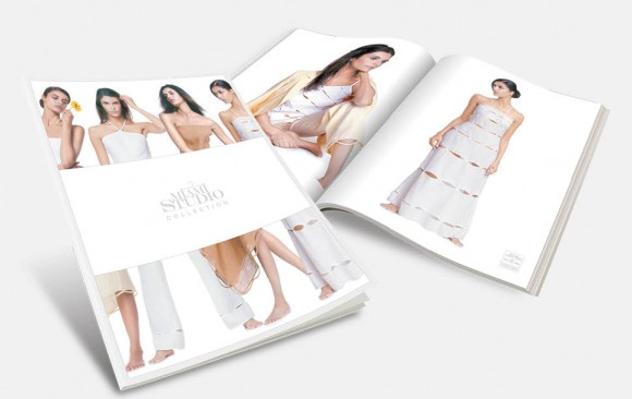 Fashion Company Magazine Design