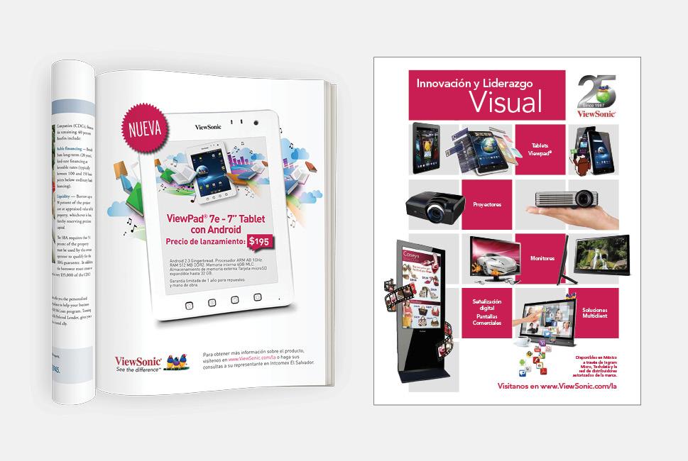 Computer Company Ad Design
