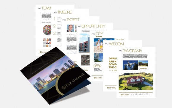 Real Estate Company Brochure Design
