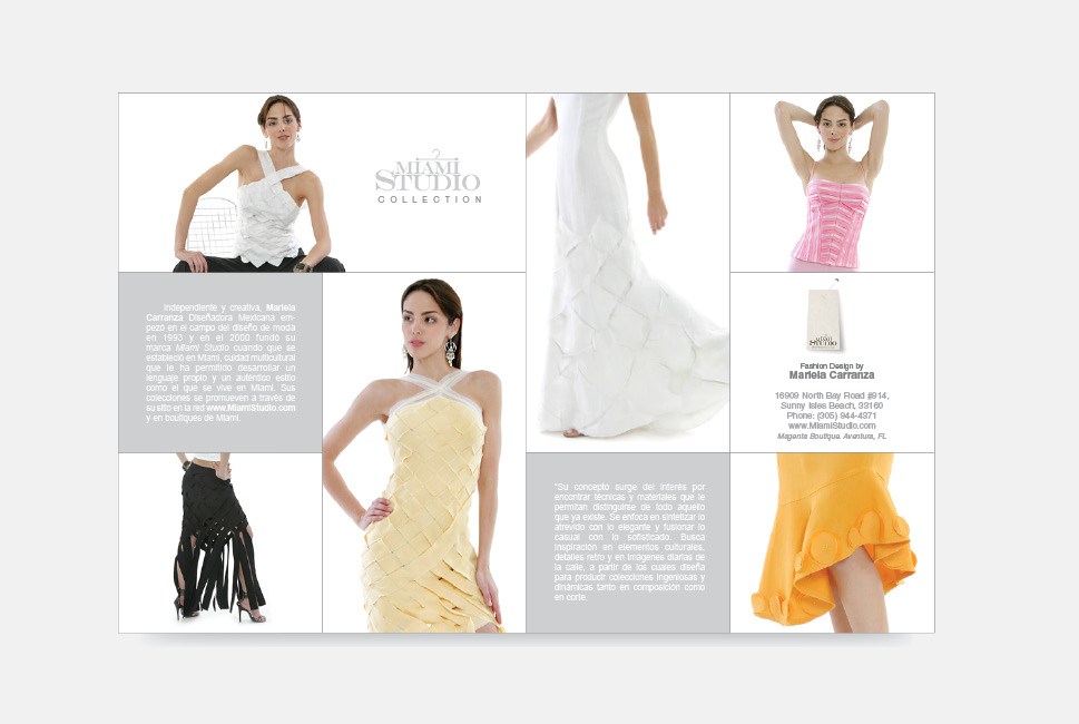 Fashion Company Brochure design