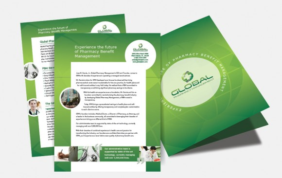 Pharmaceutical Company Brochure Design
